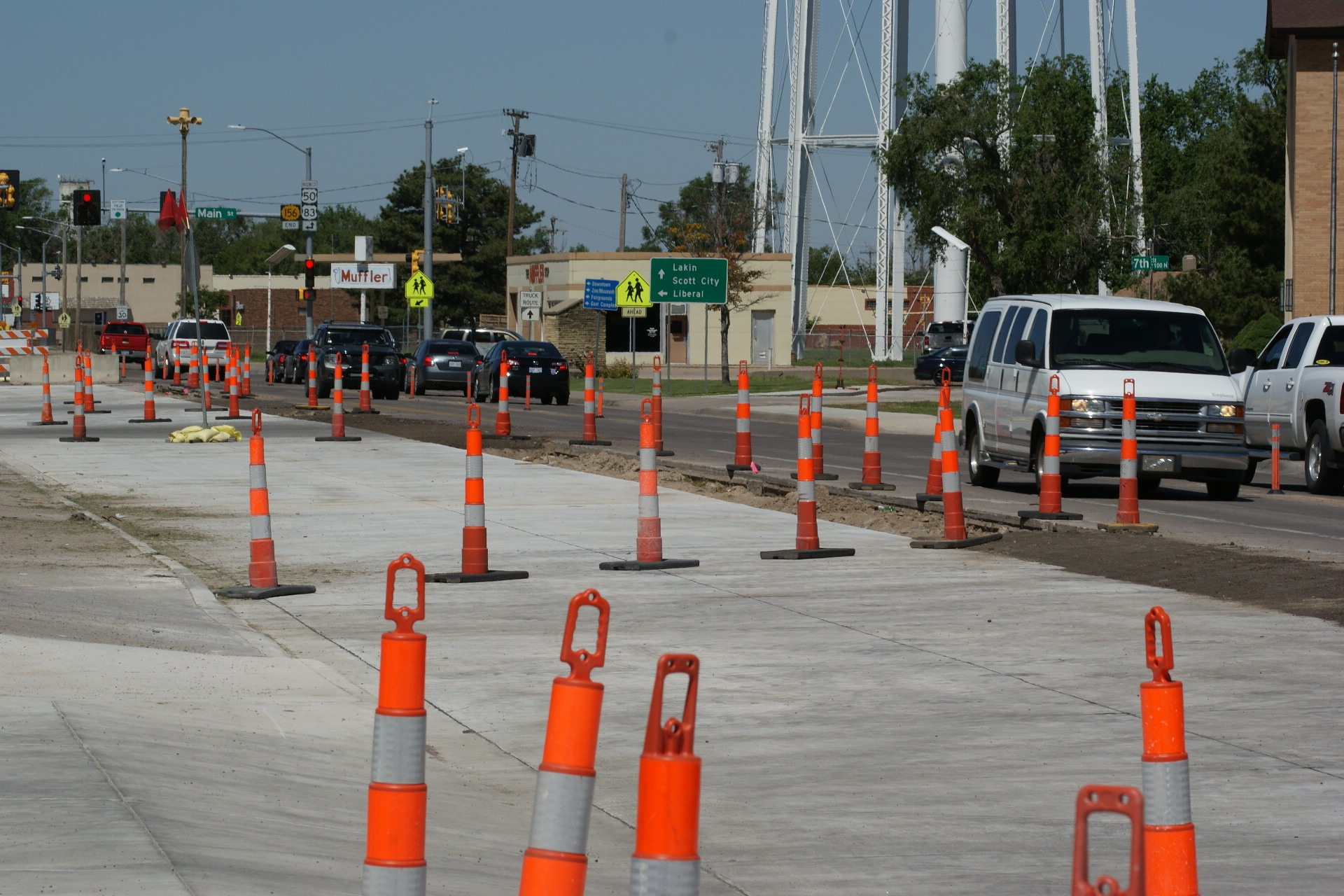 Kansas Avenue Widening Enters New Phase Greater Garden City