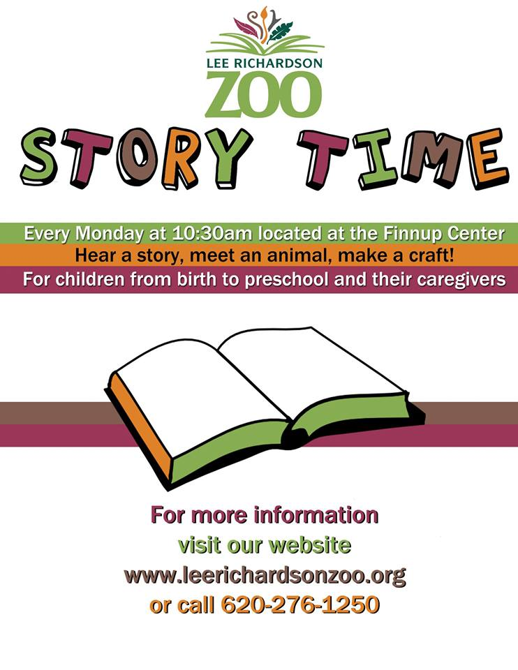 Story Time @ Lee Richardson Zoo @ Finnup Center @ Lee Richardson Zoo