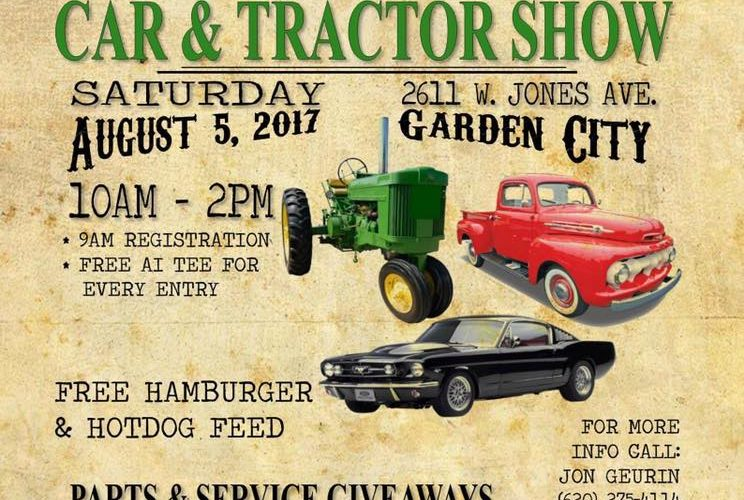 American Implement Car Tractor Show Greater Garden City