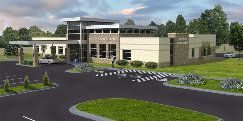 Fry Eye Associates Officially Announce Plans To Build A New Clinic Greater Garden City