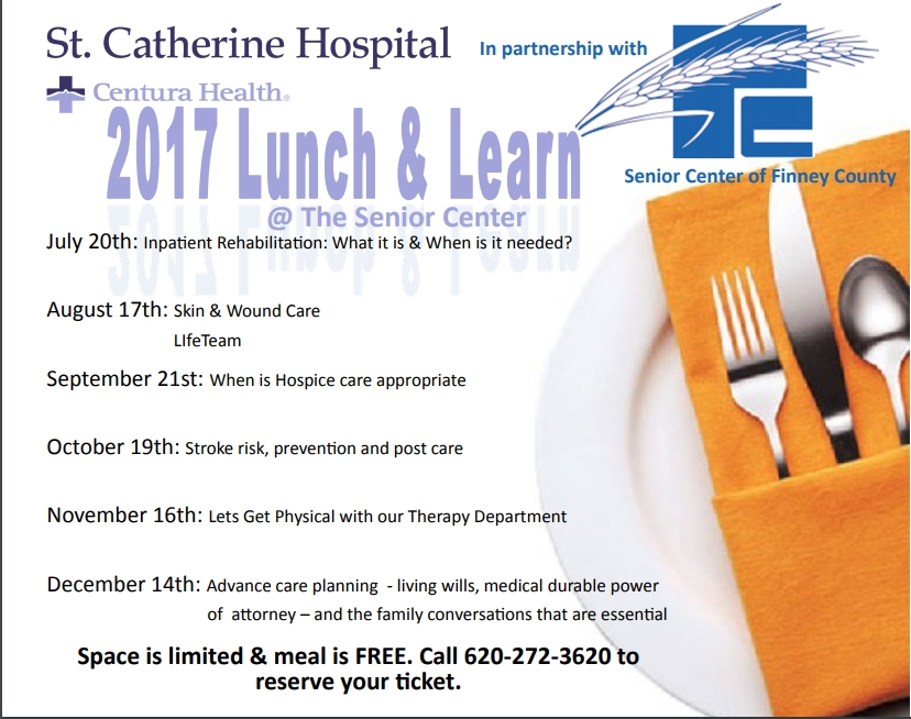 Lunch and Learn @ Senior Center