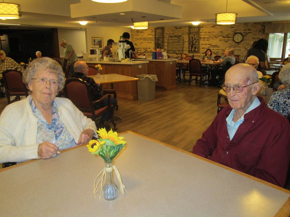 August Birthday Party At Garden Valley Retirement Village