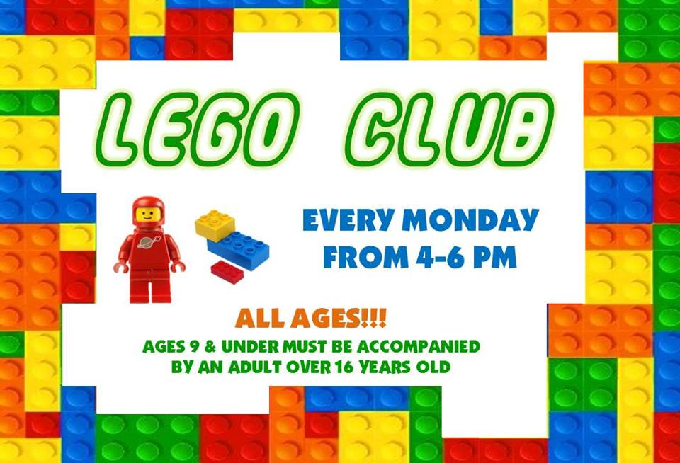 Lego Club @ Finney County Public Library