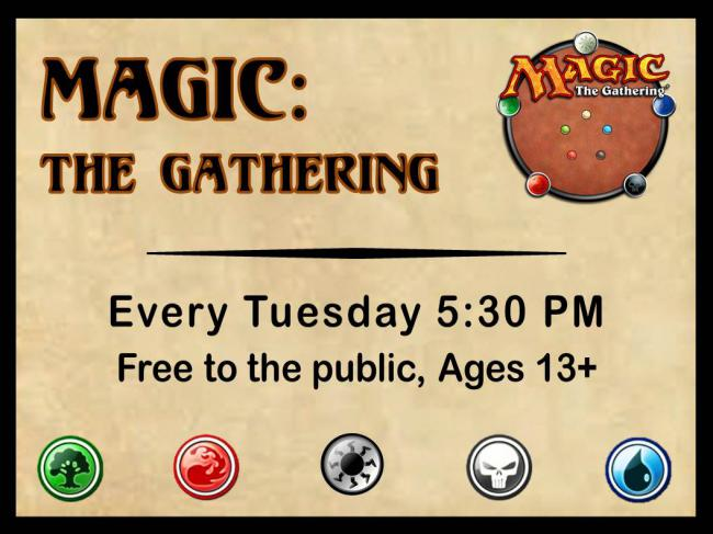 Magic:The Gathering Night @ Finney County Public Library