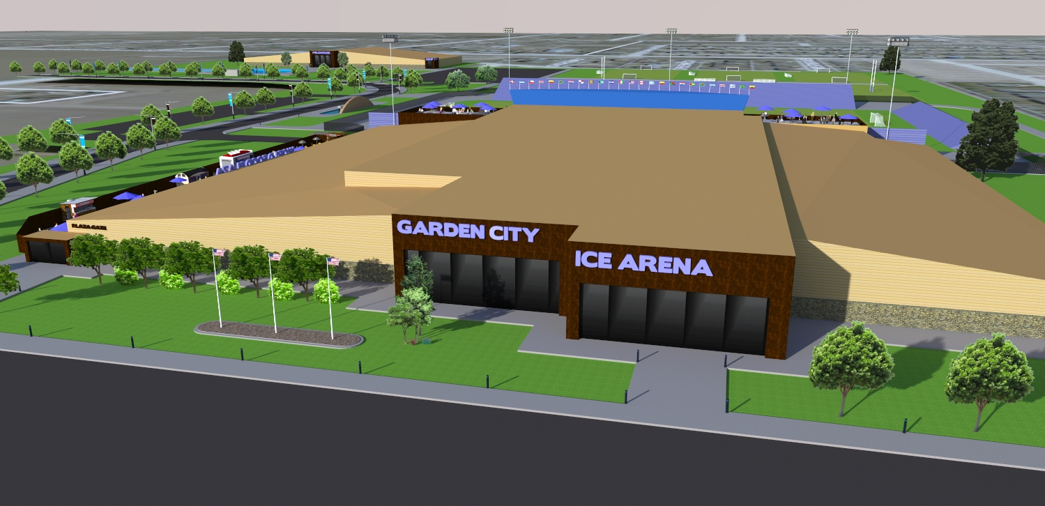 Ice Arena Multi Sport Complex Concept Unveiled Greater Garden City