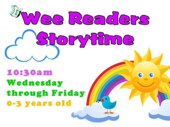 Wee Readers Storytime @ Finney County Public Library