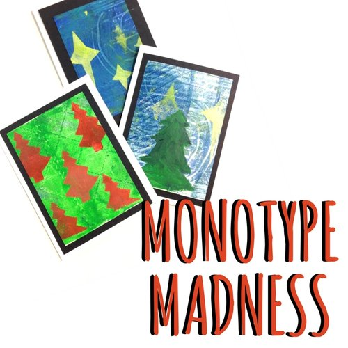 Monotype Madness @ Garden City Arts