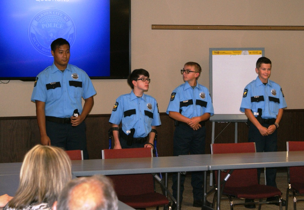 First Group Of Law Enforcement Explorers Complete Basic Training