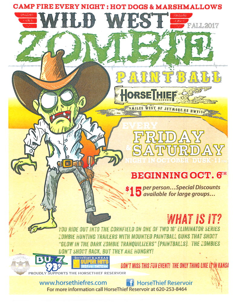 Wild West Zombie Paintball @ HorseThief Reservoir
