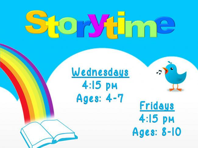 Story Time: 4-7 Year Olds @ Finney County Public Library