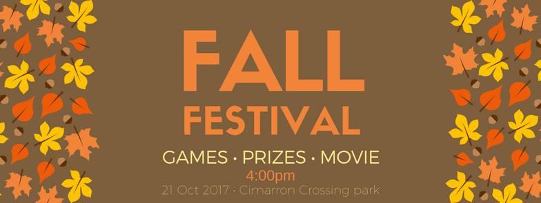 Cimarron Chamber Fall Fest @ Cimarron Crossing Park
