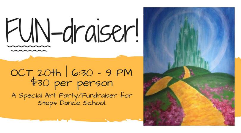 Art Party: Steps Dance School Fun-draiser @ Garden City Arts