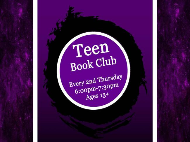 Teen Book Club @ Finney County Public Library