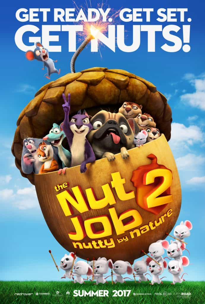 Movie Mania -The Nut Job 2 @ Finney County Public Library