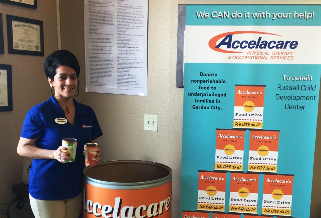 Accelacare Food Drive Underway Now Greater Garden City