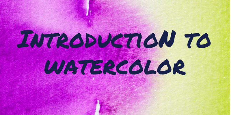 Introduction to Watercolor @ Garden City Arts