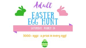 Adult Easter Egg Hunt @ Peebles Complex