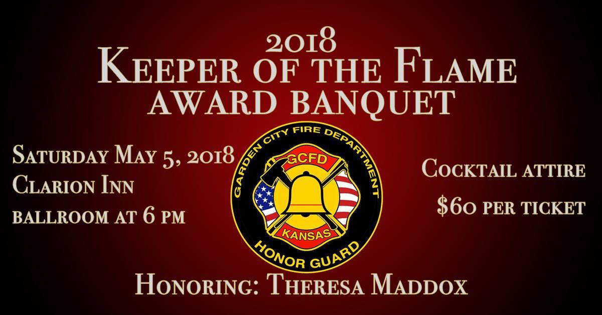2018 Keeper of the Flame Award Banquet @ Clarion Inn Ballroom