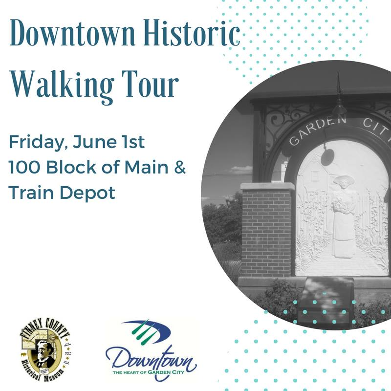 Downtown Historic Walking Tour @ Downtown Garden City