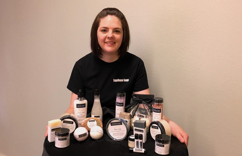 Gallardo S Sagehouse Soaps Will Open June 2 In Downtown Garden City Offering A Variety Of Bath And Body Products