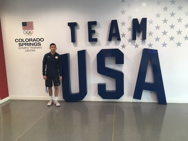 Olympic Dreams: Arguello participates in U S  Olympic
