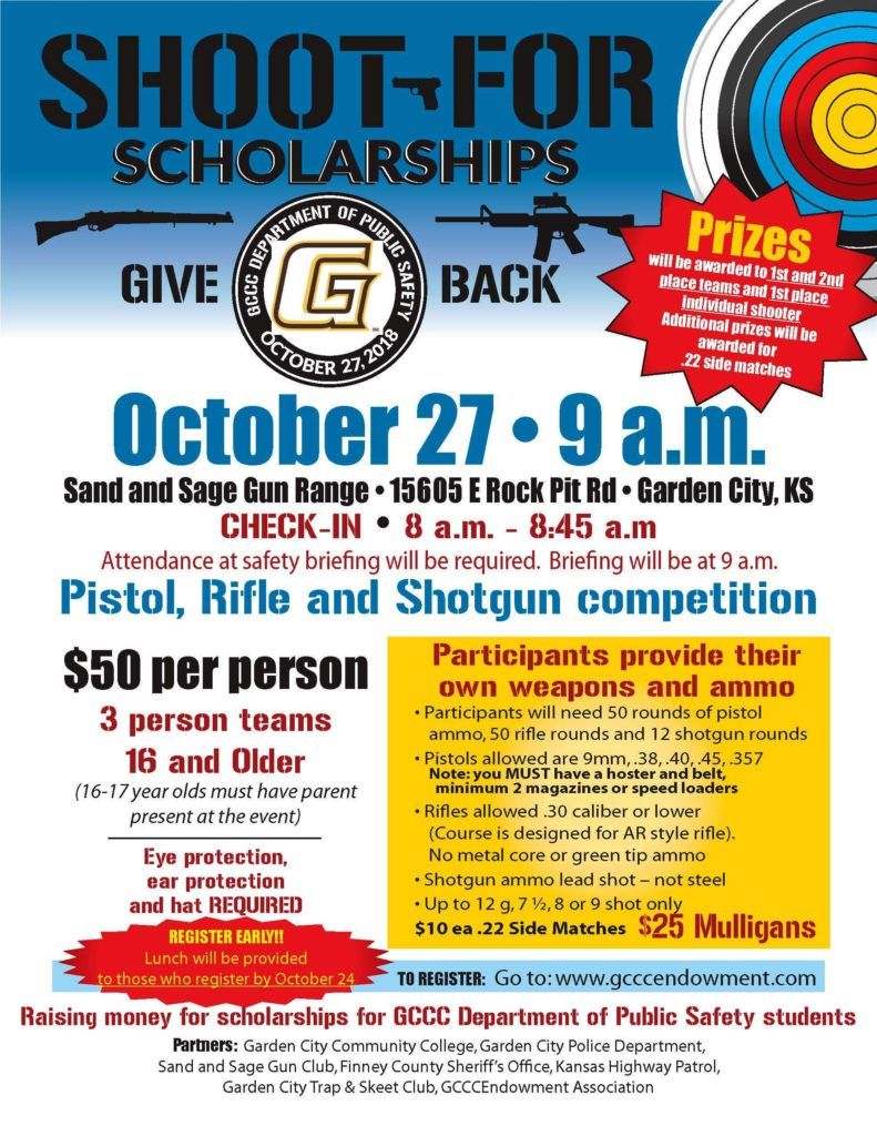 Shoot for Scholarships @ Sand and Sage Gun Range