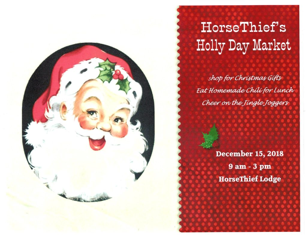HorseThief's Holly Day Market @ HorseThief Reservoir