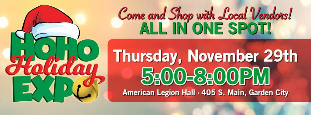 Garden City Telegram Holiday Expo @ American Legion Hall