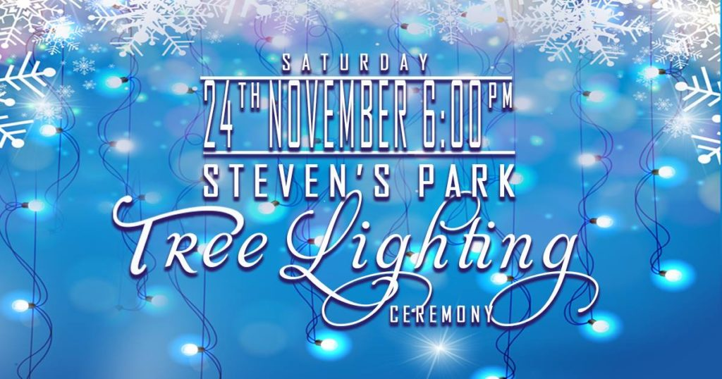 Stevens Park Tree Lighting @ Stevens Park
