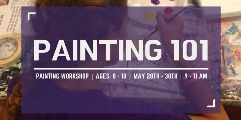 Painting 101 @ Garden City Arts