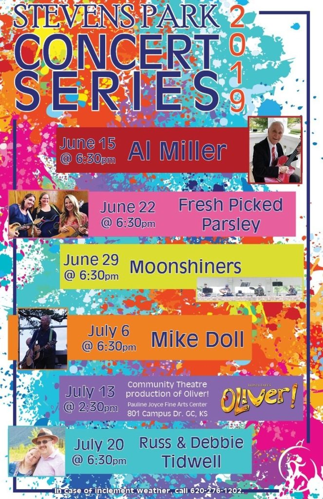 Stevens Park Concert Series - Mike Doll @ Downtown Garden City/Stevens Park