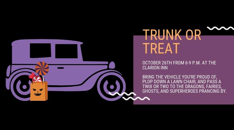 Trunk or Treat @ Clarion Inn