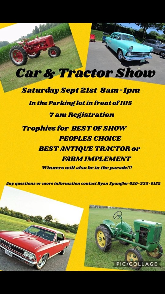 Ingalls Car & Tractor Show @ Ingalls High School