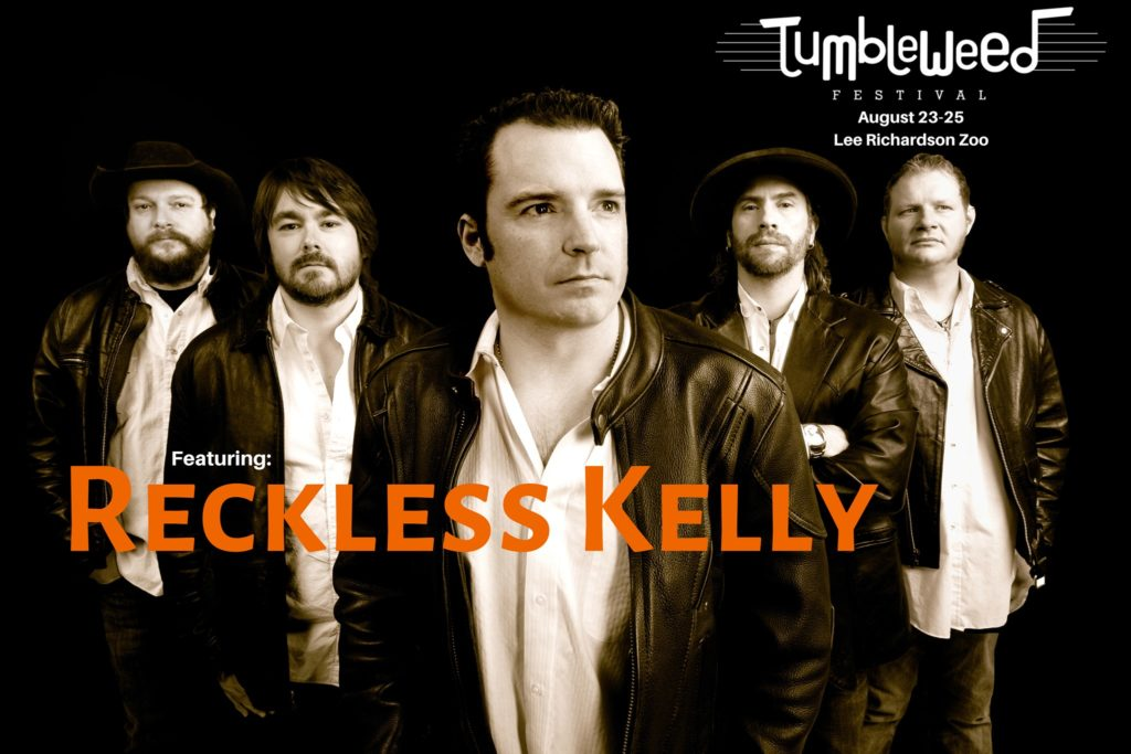 Reckless Kelly @ The Tumbleweed Festival @ West Green - Lee Richardson Zoo