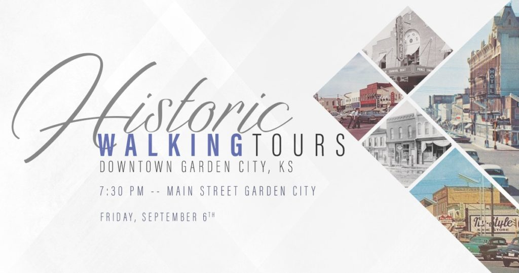 Downtown Historic Walking Tours @ Downtown Garden City