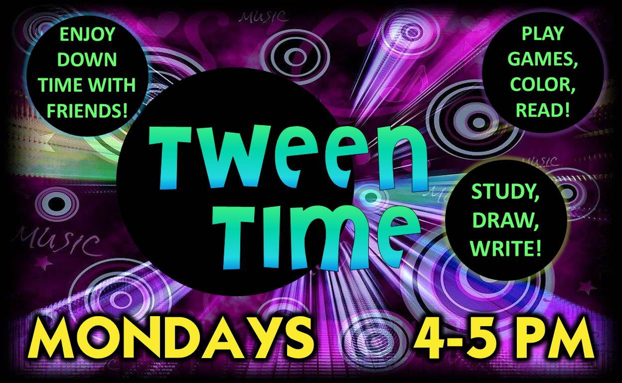 Tween Time @ Finney County Public Library