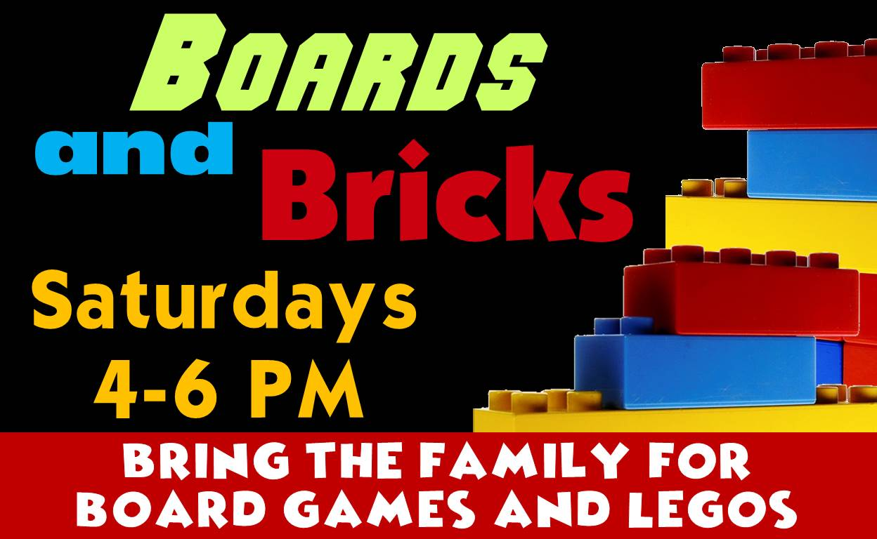 Boards and Bricks @ Finney County Public Library
