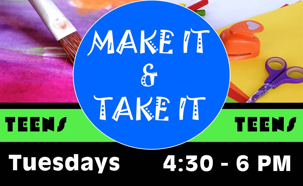 Make It & Take It @ Finney County Public Library