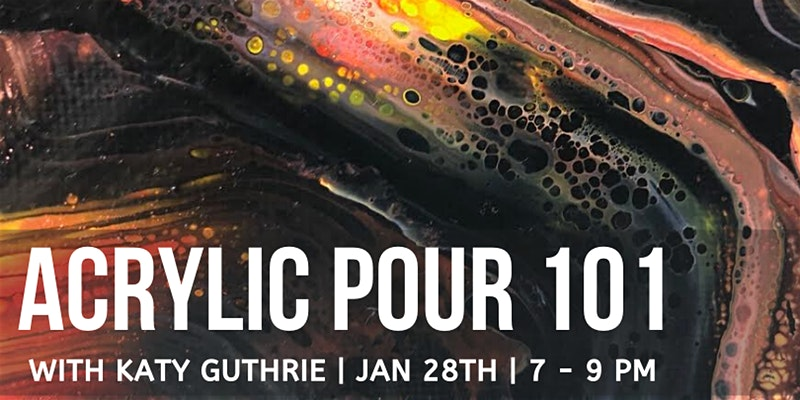 Acrylic Pour 101 @ Garden City Arts
