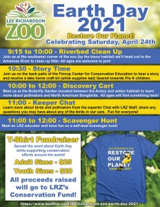 Earth Day 2021 @ Lee Richardson Zoo