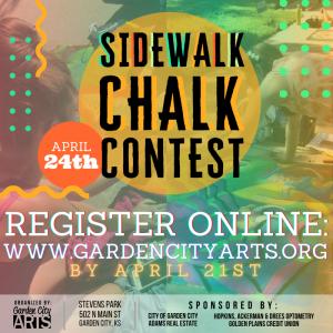 Sidewalk Chalk Contest @ Stevens Park