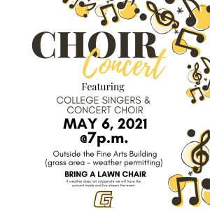 GCCC Choir Concert @ Fine Arts Building-GCCC Campus