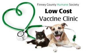 Vaccination Clinic #5 of 2021 @ Finney County Humane Society