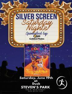 Silver Screen Saturday Nights- Coco @ Stevens Park