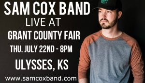 Sam Cox Band LIVE at Grant County Fair @ Grant County Fairgrounds