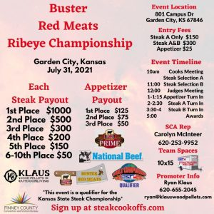 Buster Red Meats Ribeye Championship @ Garden City Community College