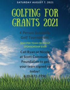 Golfing For Grants @ Scott Community Golf Course